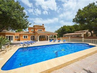 Villa in Moraira, Costa Blanca, Spain - La Llobella vacation rentals