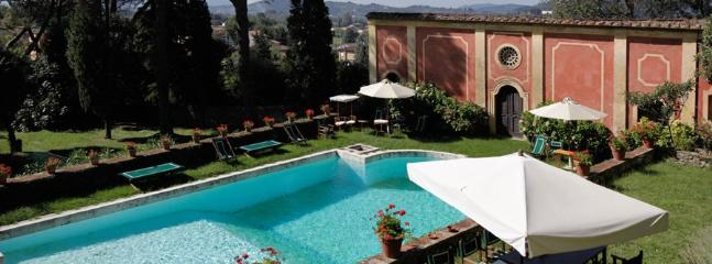 7 bedroom Villa in Lucca, Lucca Area, Tuscany, Italy : ref 2230295 - Image 1 - Lucca - rentals