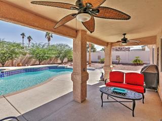 Tropically Inviting 3BR Lake Havasu City Home w/Wifi, Private Outdoor Pool, Spa, Peaceful Mountain Views & Prime Lakeside Location - Minutes Away from All the Fun! - Lake Havasu City vacation rentals