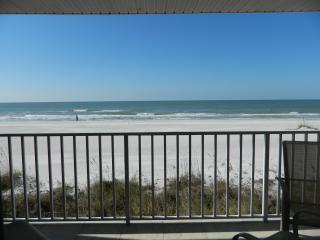 Elegant, Direct Ocean-Front Condo w180 degree view - Indian Shores vacation rentals