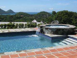 Comfortable family villa with great views. - Cap Estate vacation rentals