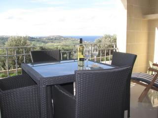 Gozo apartment, spectacular country and sea views - Nadur vacation rentals