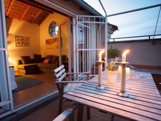 NEW! Bright! 6th floor, wonderful terrace,AC,quiet - Rome vacation rentals