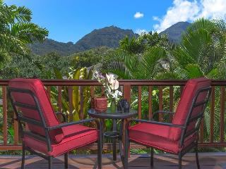 15% off Available Fall Dates! Hanalei Waterfalls, Mountain Views, with A/C! - Hanalei vacation rentals