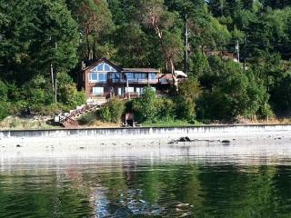 Spectacular low bank, private, waterfront home with direct beach access - Coupeville vacation rentals