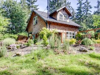 Art-filled retreat surrounded by trees & gardens, almost an acre of land! - Bainbridge Island vacation rentals