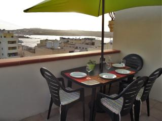 Seaview Penthouse with A/C in Bugibba & free taxi - Bugibba vacation rentals