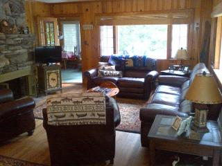 Cabin with private beach, classic Lake George 2BR - Diamond Point vacation rentals