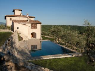 Splendid villa in the heart of Tuscan nature - San Donato in Poggio vacation rentals