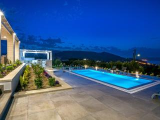 Amazing 4bdrm luxurious villa,large pool,seaviews - Kalyves vacation rentals