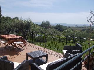 Beautiful family home with stunning Tuscan views - Petrignano vacation rentals