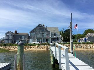 Fabulous Beach front home with private dock - West Yarmouth vacation rentals