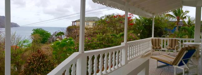 spacious patio with lounge chairs and alfresco dinning - Twilight Cottage - Lower Bay - rentals