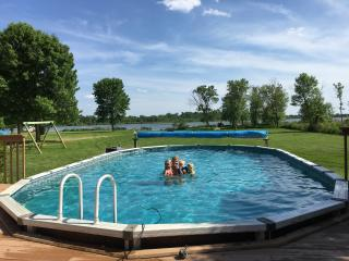 Bear Camp Cabin on French Lake with private pool - Annandale vacation rentals