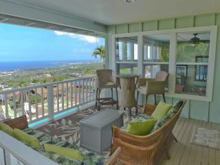 Luxury Home, Awesome Views, Heated Pool, in town - Kailua-Kona vacation rentals