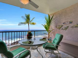 Kona Reef Oceanfront condo! NO Traveler Fees! - Kailua-Kona vacation rentals
