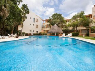 2 BR Condo with Golf Course View next to Reef Club - Playa del Carmen vacation rentals