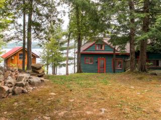 "Summer Rates Reduced! ""Bunk House"" Serene 4BR Hague Cottage on Lake George w/Small Beach, Private Dock & Wifi - Less Than 1 Mile from Downtown Hague! - Hague vacation rentals"