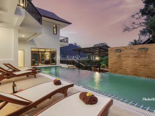 Beautiful, spacious 8-bedroom Villa overlooking the Andaman sea - Patong vacation rentals