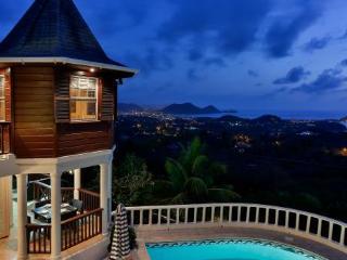 Newly renovated 4 Bedroom villa enjoys breathtaking panoramic views. - Cap Estate vacation rentals