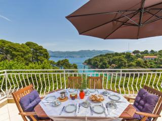 Apartment with a beautiful see view - Kolocep Island vacation rentals