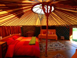 Traditional Mongolian Yurt on Ecofarmasturias - Nava vacation rentals