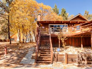 Quiet 2BR Green Valley Lake Cabin w/Private Deck & Amazing Mountain Backdrop - Easy Access to Big Bear, Lake Arrowhead, Snow Valley, & Other Attractions - Green Valley Lake vacation rentals