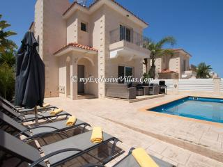 Bright 3 bedroom Villa in Protaras - Protaras vacation rentals