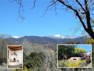 Adobe-style casita with mountain views - Santa Fe vacation rentals