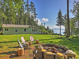 Secluded 3BR Decatur Island House on 20 Heavily Wooded Acres w/Wifi, Private Beach & Majestic Views - Decatur Island vacation rentals