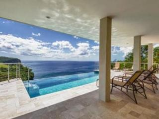 6 Bedroom villa with private infinity pool overlooking the bay and over the ocean - Saint Lucia vacation rentals