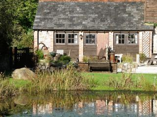 Lakeside cottage with fishing and hot tub slps 2-4 - Callington vacation rentals