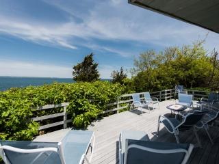 BAYLM - Spectacular Waterfront  in Makonikey,  Ocean Views and Breathtaking Sunsets, Private Beach,  Private Location - Vineyard Haven vacation rentals