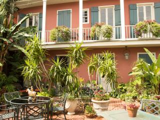 French Quarter Early Creole Slave Quarter, Balcony - New Orleans vacation rentals