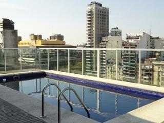 Modern New One-Bedrm with Balcony/Pool/Gym/View - Buenos Aires vacation rentals