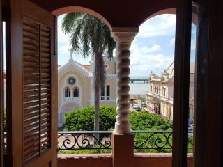 Plaza view balcony center Casco with Roof and Pool - Panama City vacation rentals