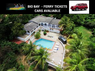 House & pool & BBQ up to 13 Close to Biobay. Cars - Esperanza vacation rentals