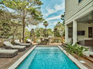 Brand new home with outdoor kitchen, private pool, and peek-a-boo gulf views - Bewitching Dunes - Santa Rosa Beach vacation rentals