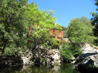 2 bed Apt, idyllic stream to swim in & relax by - Sorede vacation rentals