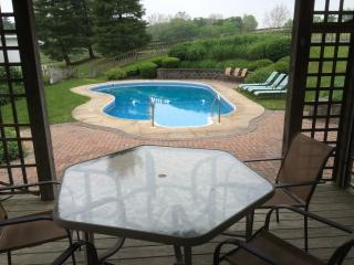 Secluded Restored Farmhouse Situated on 92 Acres with seasonal in ground pool - Lancaster vacation rentals