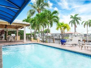 Palm Villa: New Remodel / Waterfront / Salt Water Pool! - Pompano Beach vacation rentals