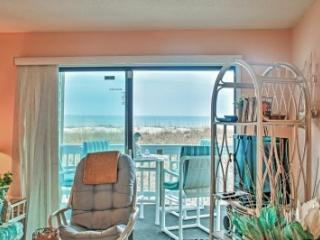 First Floor Ocean Front Condo Walking distance - Carolina Beach vacation rentals