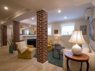 Large loft style exposed brick, w/d, pking, dw, FP - Somerville vacation rentals