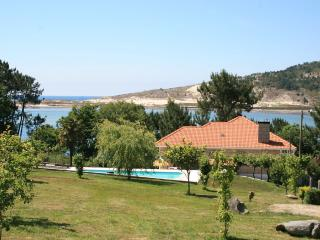 Cozy beachfront villa with swimming pool and lovely views - Cabana de Bergantinos vacation rentals
