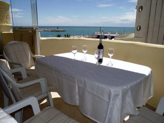 Beachfront Marina 2 bed apt,with stunning sea view - Benalmadena vacation rentals