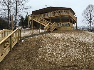 Beautiful 4 bedroom Logan Cabin with Deck - Logan vacation rentals