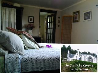 Sapphire Room at Castle La Corona de los Santos - Santa Cruz de Leon Cortes vacation rentals