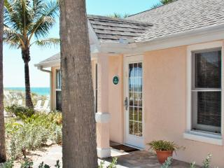 Beachfront cottage*Step off patio to the sand! - Indian Rocks Beach vacation rentals