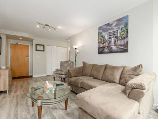 Modern Coal Harbour Apt: 2 Beds + 1 Bath w/ AC - Vancouver vacation rentals