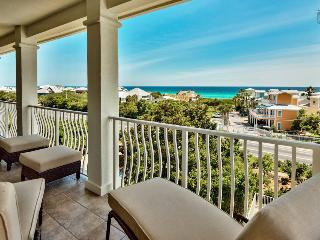 Gulf views, community pool, large balcony and well appointed furnishings - Emerald Vista - Santa Rosa Beach vacation rentals